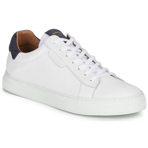 Chaussures Homme Baskets basses Schmoove SPARK-CLAY Blanc / Bleu