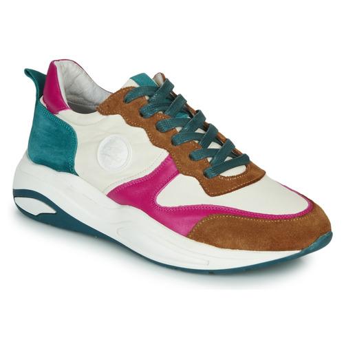Chaussures Femme Baskets basses Pataugas FRIDA Blanc / Multico