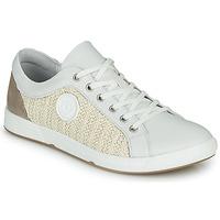 Chaussures Femme Baskets basses Pataugas JOHANA Ecru / Jaune