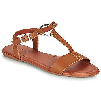 Chaussures Femme Sandales et Nu-pieds Esprit KONA T STRAP Cognac