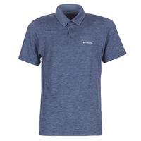 Vêtements Homme Polos manches courtes Columbia TECH TRAIL POLO Bleu