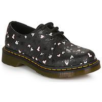 Chaussures Femme Derbies Dr Martens 1461 HEARTS Noir