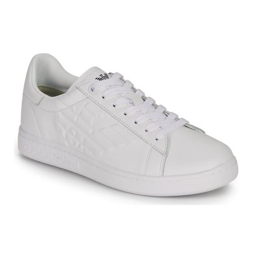 Chaussures Baskets basses Emporio Armani EA7 CLASSIC NEW CC Blanc