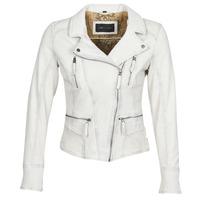 Vêtements Femme Vestes en cuir / synthétiques Oakwood CAMERA Blanc