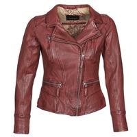 Vêtements Femme Vestes en cuir / synthétiques Oakwood CAMERA Rouge