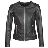 Vêtements Femme Vestes en cuir / synthétiques Oakwood PLEASE Noir