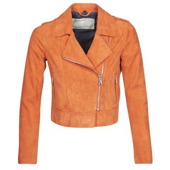 Vêtements Femme Vestes en cuir / synthétiques Oakwood KEREN Rouille