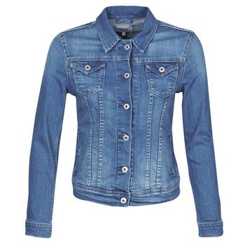 Vêtements Femme Vestes en jean Pepe jeans THRIFT Bleu Medium HB6
