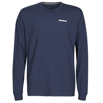Vêtements Homme T-shirts manches longues Patagonia M'S L/S P-6 LOGO RESPONSIBILI-TEE Marine
