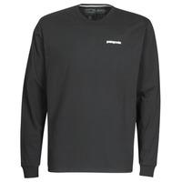 Vêtements Homme T-shirts manches longues Patagonia M's L/S P-6 Logo Responsibili-Tee NOIR
