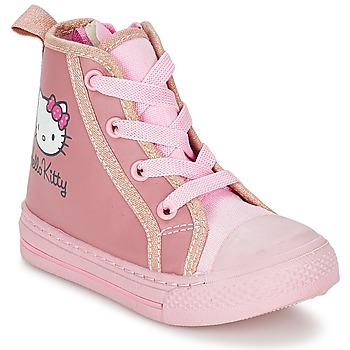 Basket montante Hello Kitty TANSIOUR Rose