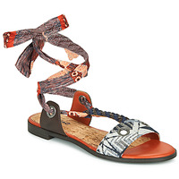 Chaussures Femme Sandales et Nu-pieds Desigual JUNGLE AFRICA Marine / Blanc
