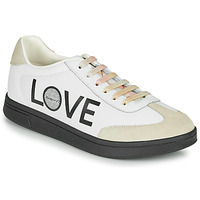 Chaussures Femme Baskets basses Desigual COSMIC LETTERING Blanc