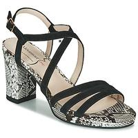 Chaussures Femme Sandales et Nu-pieds Metamorf'Ose GABARIT Noir / Python