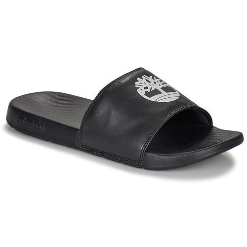 Chaussures Mules Timberland PLAYA SANDS SPORTS SLIDE Noir