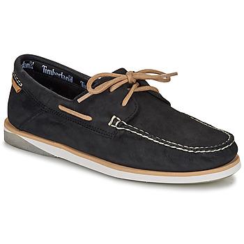 Chaussures Homme Chaussures bateau Timberland ATLANTIS BREAK BOAT SHOE Noir
