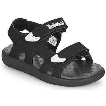 Chaussures Enfant Sandales et Nu-pieds Timberland PERKINS ROW 2-STRAP Noir