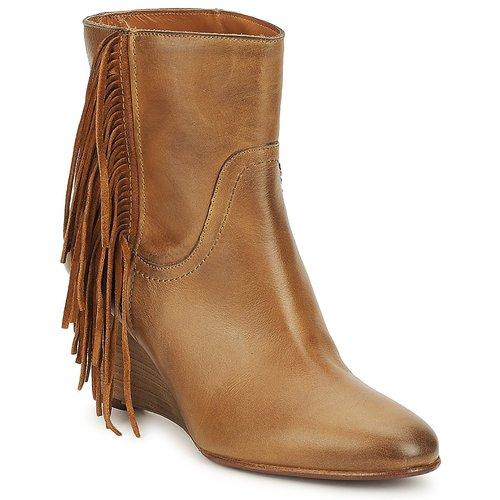 Chaussures Femme Bottines JFK ALEX HI Camel