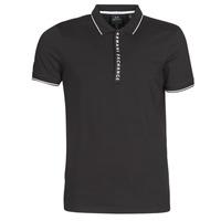 Vêtements Homme Polos manches courtes Armani Exchange HANEMO Noir