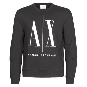 Vêtements Homme Sweats Armani Exchange HELIX Noir