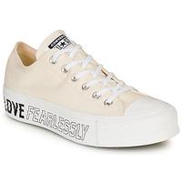 Chaussures Femme Baskets basses Converse CHUCK TAYLOR ALL STAR LIFT - OX Beige