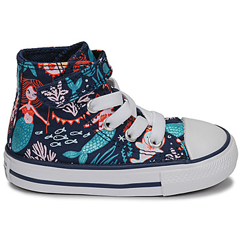 Baskets montantes enfant Converse CHUCK TAYLOR ALL STAR 1V UNDERWATER PARTY