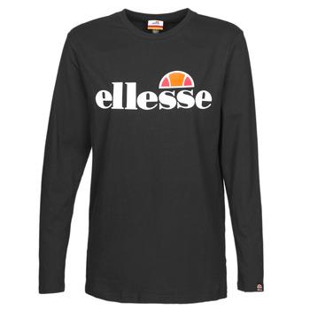 Vêtements Femme T-shirts manches longues Ellesse GRAZIE Noir