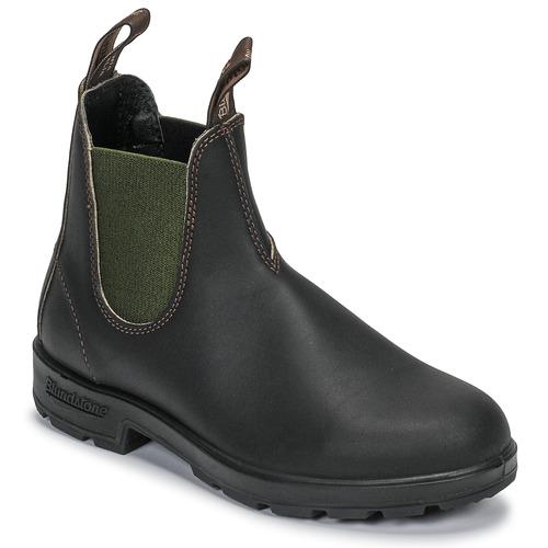 Chaussures Boots Blundstone ORIGINAL CHELSEA BOOTS 519 Marron / Kaki