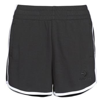 Vêtements Femme Shorts / Bermudas Converse Twisted Varsity Short Black