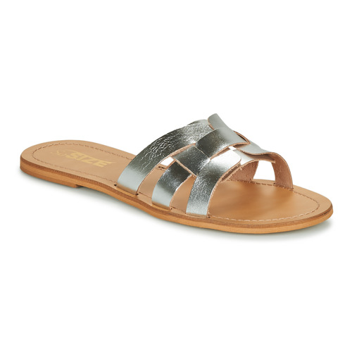 Chaussures Femme Mules So Size MELINDA argent