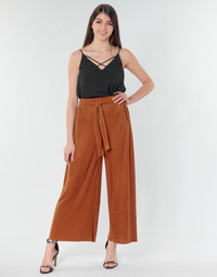 Vêtements Femme Pantalons fluides / Sarouels Moony Mood  Rouille
