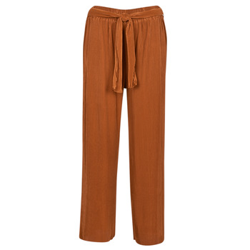 Vêtements Femme Pantalons fluides / Sarouels Moony Mood MALADYA Rouille