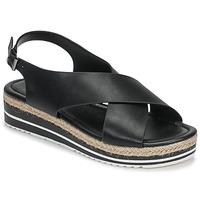 Chaussures Femme Sandales et Nu-pieds Moony Mood MELANIE noir