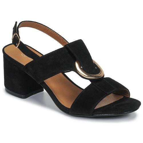 Chaussures Femme Sandales et Nu-pieds Moony Mood MANY noir