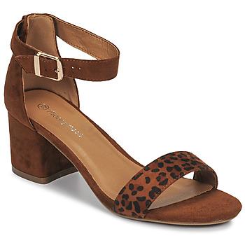 Chaussures Femme Sandales et Nu-pieds Moony Mood MEDIO léopard