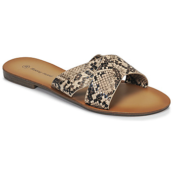 Chaussures Femme Mules Moony Mood MADISON python
