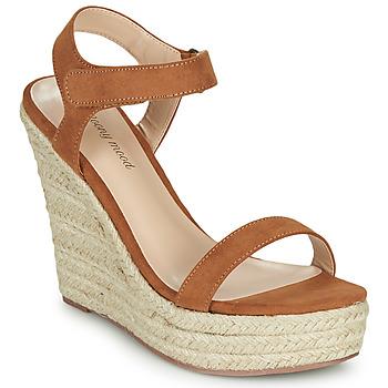 Chaussures Femme Sandales et Nu-pieds Moony Mood MARTA Camel
