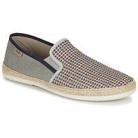 Chaussures Homme Espadrilles Bamba By Victoria ANDRE ELASTICO TRENZAD Gris