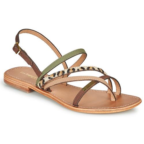 Chaussures Femme Sandales et Nu-pieds Les Tropéziennes par M Belarbi HOUKA Kaki / Multi