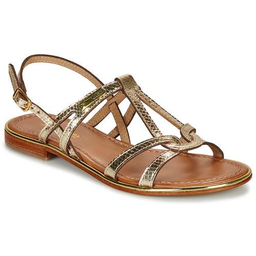 Chaussures Femme Sandales et Nu-pieds Les Tropéziennes par M Belarbi HACKLE Doré