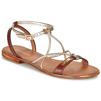 Chaussures Femme Sandales et Nu-pieds Les Tropéziennes par M Belarbi HIRONDEL Tan / Or