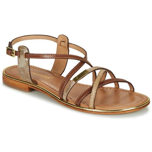 Chaussures Femme Sandales et Nu-pieds Les Tropéziennes par M Belarbi HARRY Tan / Or