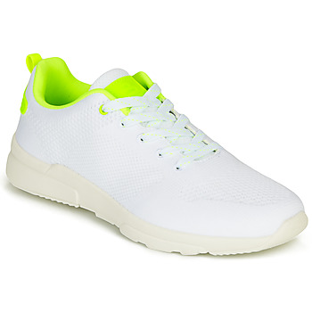 Chaussures Fille Baskets basses Bullboxer NORA Blanc / Jaune