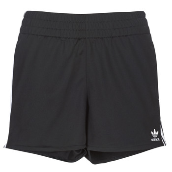 Vêtements Femme Shorts / Bermudas adidas Originals 3 STR SHORT Noir