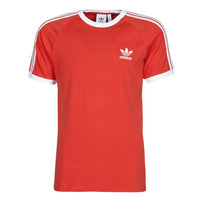Vêtements Homme T-shirts manches courtes adidas Originals 3-STRIPES TEE Rouge luxuriant