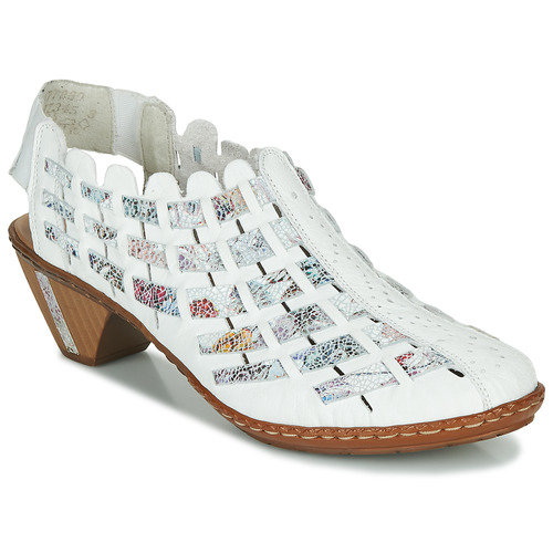 Chaussures Femme Low boots Rieker KANIN Blanc / Multicolor