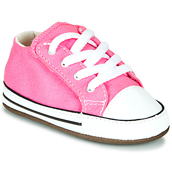 Chaussures Fille Baskets montantes Converse CHUCK TAYLOR FIRST STAR CANVAS HI Rose