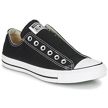 Chaussures Femme Slip ons Converse CHUCK TAYLOR ALL STAR SLIP CORE BASICS Noir
