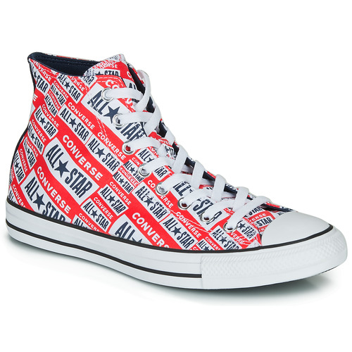 chaussures femme converse rouge