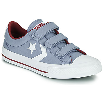 Chaussures Garçon Baskets basses Converse STAR PLAYER 3V VARSITY CANVAS Gris